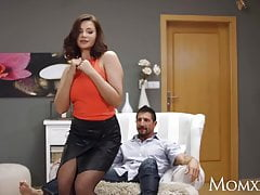 mom big tits russian milf anna polina in sexy stockings withfree full porn