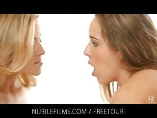 Nubile films threesome love...