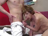 GILF and MILF having sex with young cocks
