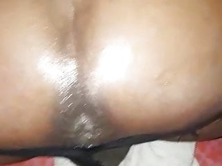 man white big by dicked a Ebony TS pounded