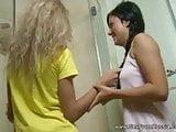 Two Russian Lesbian Shower