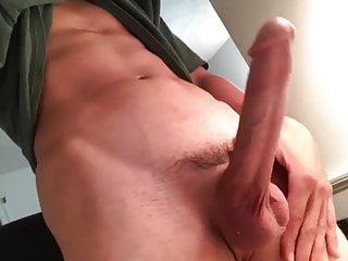 Teen Showing Off His Huge Cock