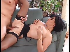 Afternoon sex with big-boobed Elodie Cherie, upscaled to 4K