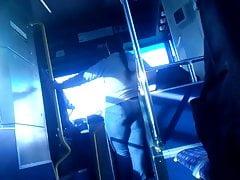 Riding bus big ass milf talk to bus driver