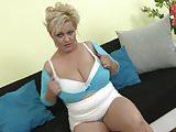 Mature BBW mom Pilar with hungry vagina