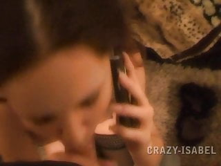 Crazy-Isabel – Freundin am Telefon