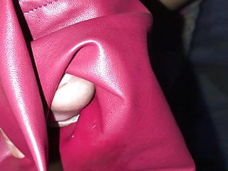 I like my wife's red leather skirt, very soft