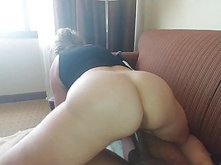 Resort Maid And big black cock Cowgirl …Wets big black cock All Up