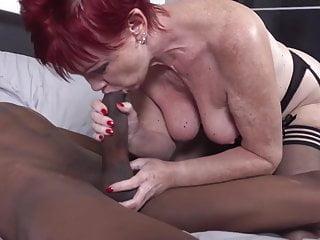 and fuck cock granny Modern black suck