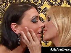 Cunt Longing Mummies Julia Ann & Jessica Jaymes Jizz Together