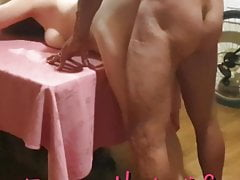 my bull fucks me in every room of the house. Cuckold.