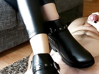 Domina Humiliation while Jerk Off Cum Eat my Shoes