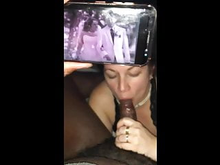 Really cheating wife suck black cock...