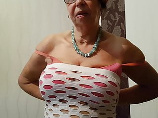 Mature redhead granny told what to do anna...