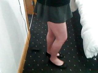 Sisters in Skirt Naughty Boy Shoes Cums School &