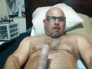 Hot Dad in bed