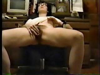 European girlfriend fingering on cam