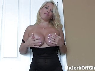 I want to feel you hot cum hitting my naked body CEI