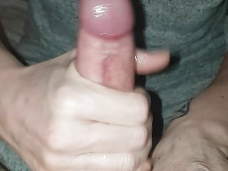 Lubed up handjob off wife