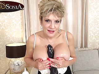 Jerk Off Instructions from Woman Sonia whereas she teases you together with her toy