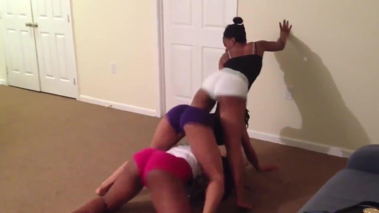 Black Teen Twerking Naked