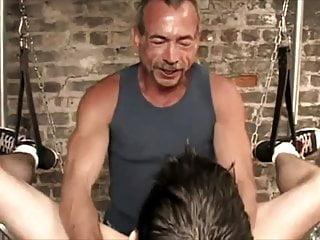 Four machos and their slut boy