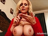 Busty Milf Julia Ann Teases Stepson with Big Tits!