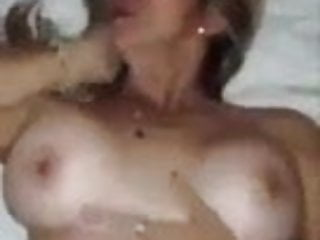 Secretly having sex with stepmother, dad, milk and big pussy