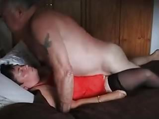 Grandpa and grandma 67 years old – cum inside