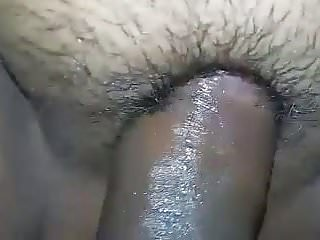 Desi milf with hairy wet pussy being fucked...
