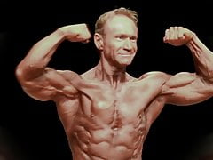 Walter Stuckler Mature Bodybuilder(No Sex and With Music)