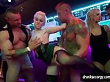 Amazing pornstars fucking in a club at construction company