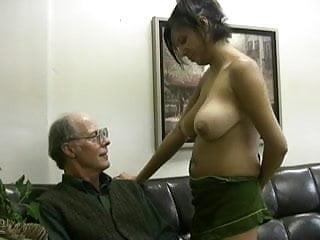 Girl scout takes old fucks cum...