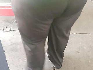 scrubs(Bus Stop) Black Megabooty Ssbbw in