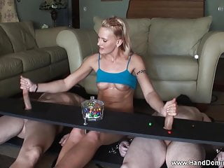 Muscular to 2 cocks...