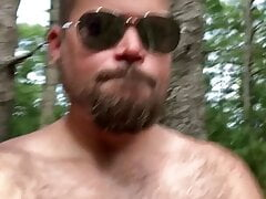 I like to go for hikes completely naked!