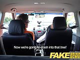 Fake Driving School Sexy horny new learner has a secret