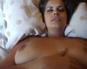 My Young Wife Try To Get A Big Toy Inside Her Pussy Girl