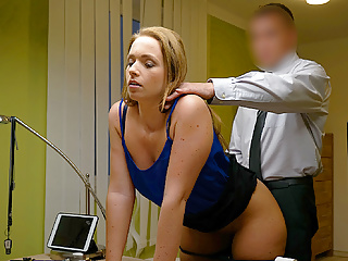LOAN4K. Miss can't refuse offer of loan manager and gets…