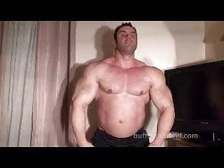 Tickling world champ bodybuilder...