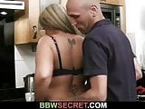 Engaged guy cheats with busty lady