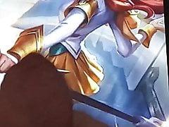 League of Legends cumtribute : Battle Academia Lux prestige
