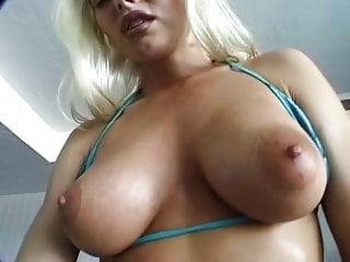 Very dildo for blonde pretty big