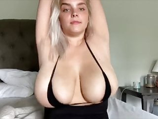 White girl with biggest tits ever part 2...