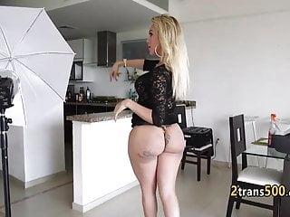 Tranny likes ass...