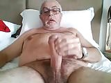 Daddy Charles Jerking His Big Cock Again