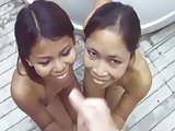 two asian