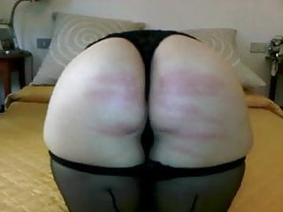 Bdsm Spanking Milf video: Wife take good caning in bedroom
