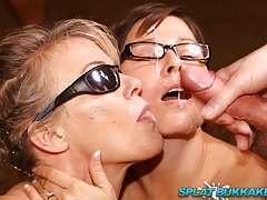 british milfs suck dick iand take bukkake facialsfree full porn