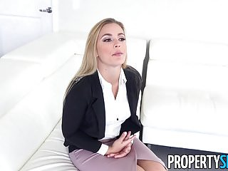 PropertySex – Supportive guy is helping female friend really feel higher